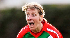 'Cora Staunton seeks her fifth All-Ireland medal and must surely be in line for an 11th All-Star award after 22 years of playing excellence.' Photo: Sportsfile