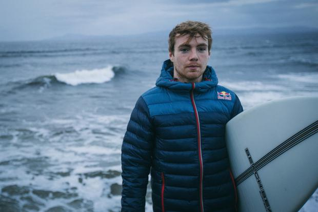 Making waves: Conor Maguire