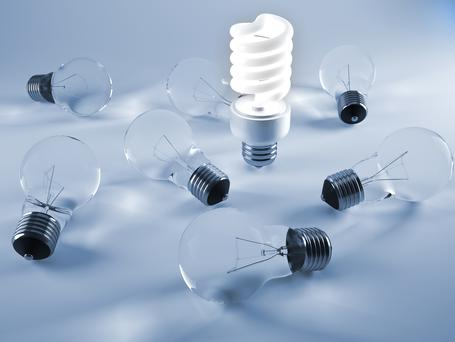 eLight is to offer energy-efficient lighting at no cost to Irish small and medium enterprises (SMEs) across a number of sectors. Stock photo