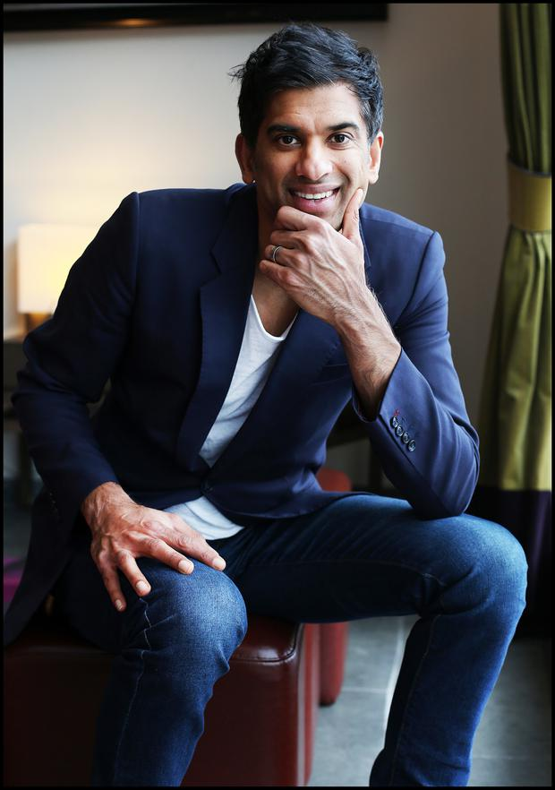 TV Doctor and Author Dr. Rangan Chatterjee pictured at The Fitzwiliam Hotel. Pic Steve Humphreys