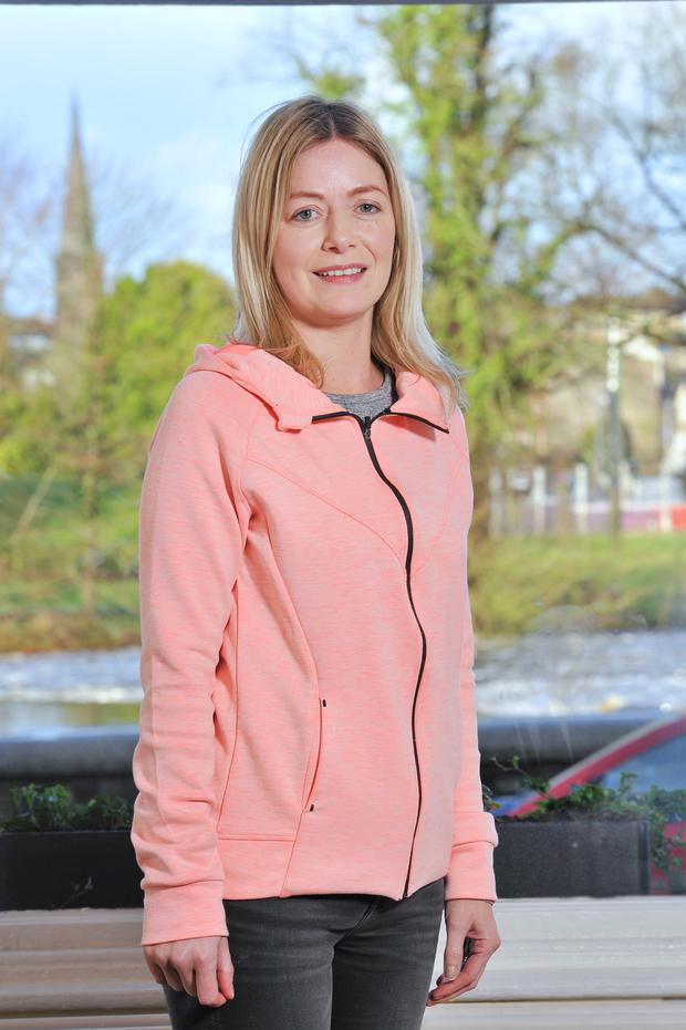 Kim Curtin Ryan beat cervical cancer and urges women to look out for symptoms. Photo: Daragh McSweeney/Provision