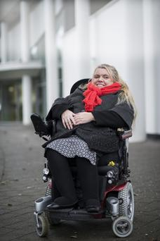 Activist: Eileen Daly says successive governments have failed disabled people in Ireland. Photo: www.doug.ie