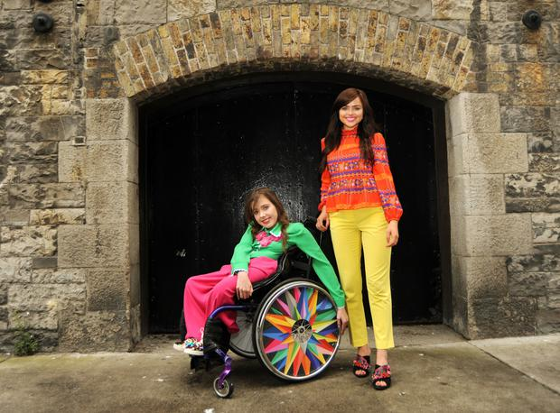Izzy and Ailbhe Keane. Photo: Caroline Quinn