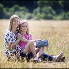 Ciara Crehan with her daughter Molly. Photo: David Conachy