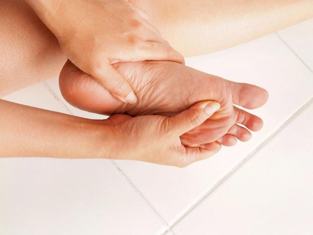 The foot is particularly vulnerable in diabetes