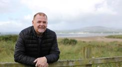 Stroke survivor Shaun Wilson pictured at Fahan, Co Donegal. Photo: Lorcan Doherty.