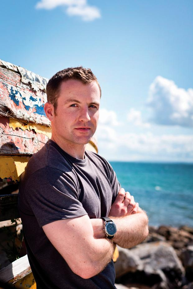 Galway-based trainer and nutritionist Pat Divilly has a new book called Naked Paleo – Food Stripped Bare