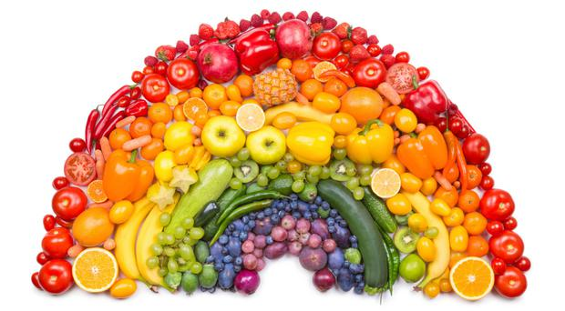 Including colourful fruit and vegetables in your diet has many health benefits