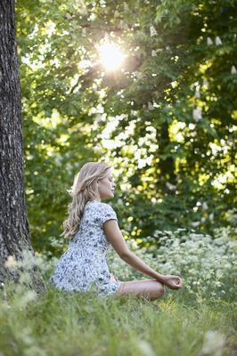 Practising stillness once you get the all-clear has proven benefits