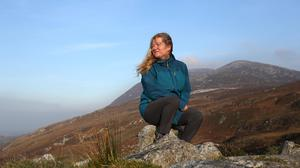 Michaela McDaid loves the great outdoors and says everyone should get up and get out for a walk every day for their mental health if possible