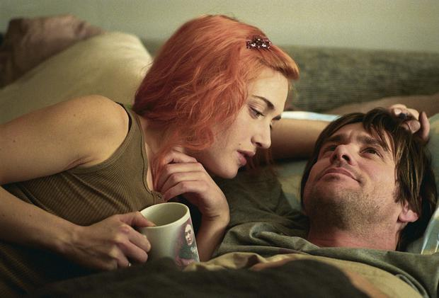 Mind games: Kate Winslet and Jim Carrey in 'Eternal Sunshine of the Spotless Mind', where characters have specific memories erased