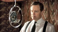 In the film The King's Speech, King George VI (played by Colin Firth) overcame his fear of public speaking