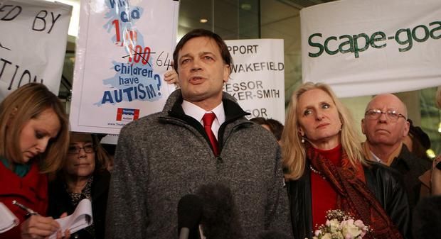Vaccination scare: The controversial medic Andrew Wakefield whose research on autism and MMR was blamed for the fall in rate of vaccination. He was later struck off.