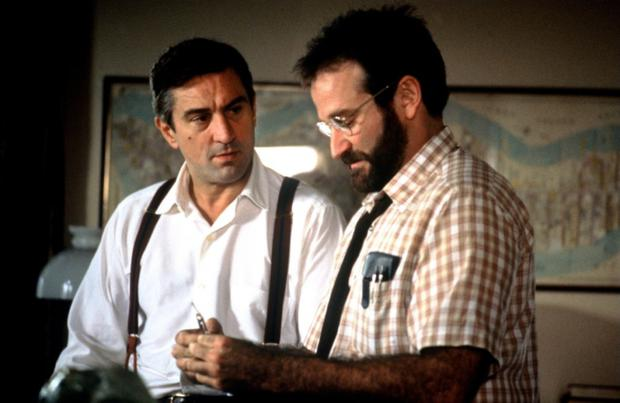 Robert de Niro and Robin Williams in 'Awakenings', which was based on the book of the same name by Oliver Sacks