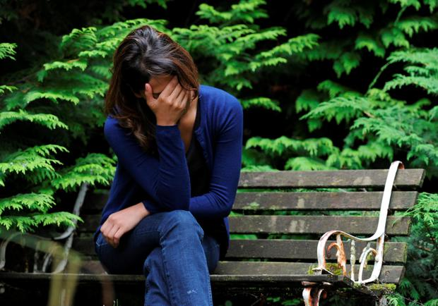 Too much stress can be detrimental to your mental health Photo: PA