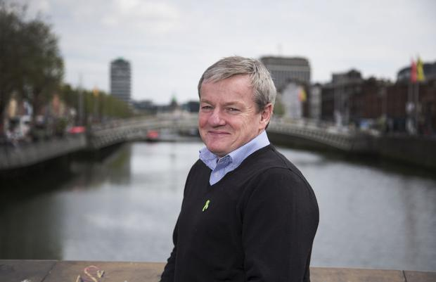 Ray Treacy is a See Change ambassador and helps others suffering with mental health problems. Photo: Colin O'Riordan