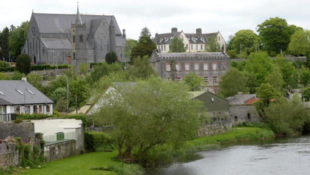 The riverside location of Thomastown
