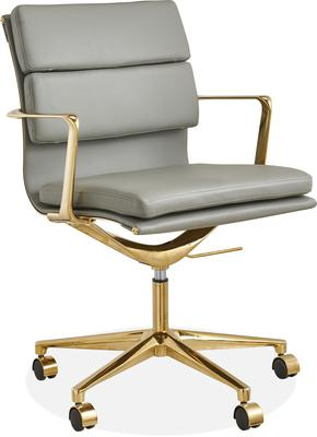 Comfortable but still stylish, this soft padded chair offers good support; cultfurniture.com; €288