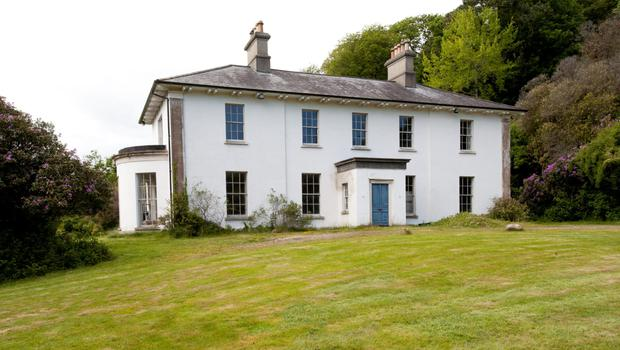 Tigroney House is a work in progress, but with much progress made, and is for sale for €1.45m, including 100 acres of land.