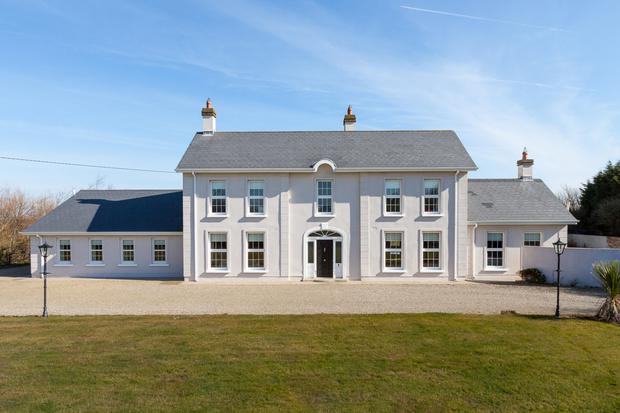 The house is a substantial 3,229 sq ft in size with three reception rooms and five bedrooms