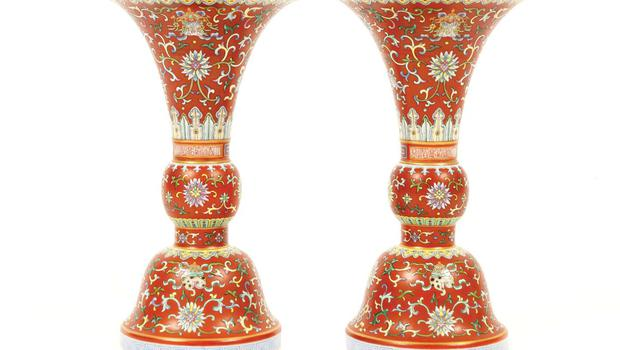 Chinese vases were the handbags of the 18th century.