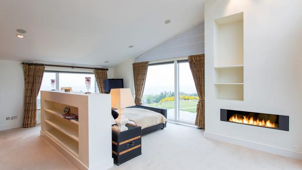The master ensuite bedroom