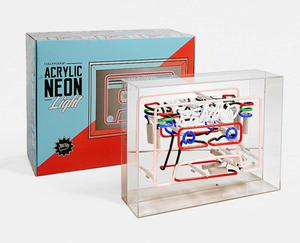 Music, €165. The Locomocean Cassette Acrylic Neon Sign is one for the music-minded, at urbanoutfitters.com