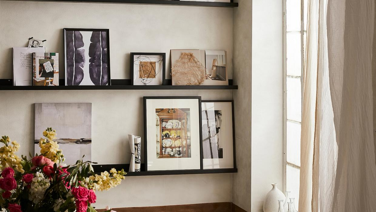 how to frame photographs for exhibition