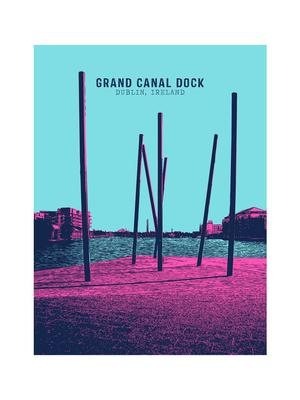 Print, from €18, Grand Canal Dock, as part of the Dublin Landmark Series by Jando Design. Available at jandodesign.com or in JamArt Factory, Temple Bar, Dublin 1