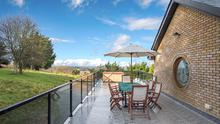 The roof at Capilano is ideal for summer barbeques