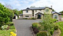 This is a large detached house situated on three-quarters of an acre near Enniscorthy