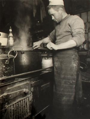 The chef of the Terra Nova Expedition, Clissold