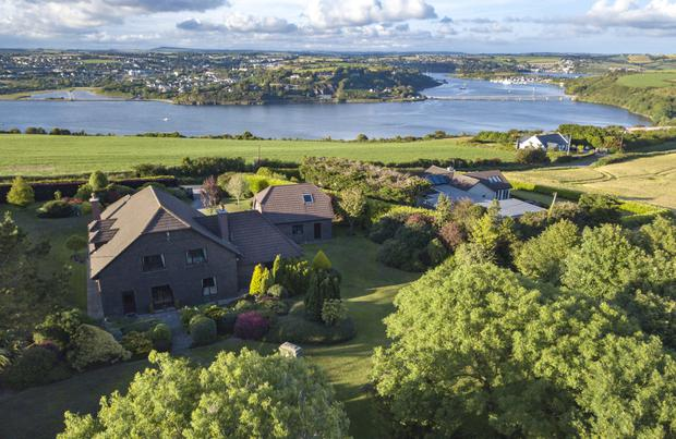 The property overlooks the River Bandon