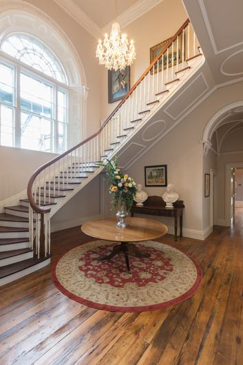 The restored period staircase