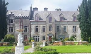 The exterior of Killoskehane Castle in Co Tipperary