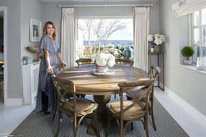 Interior designer Sinead Considine advised going with warm and welcome colours