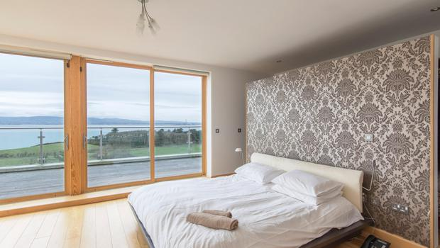 The bedroom view