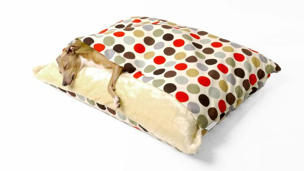 Paws for thought: Charley Chau Snuggle Bed, €105, from www.charleychau.com.