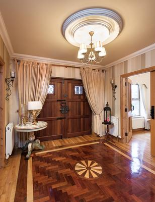 Get in on the ground floor: The front door and entrance hallway