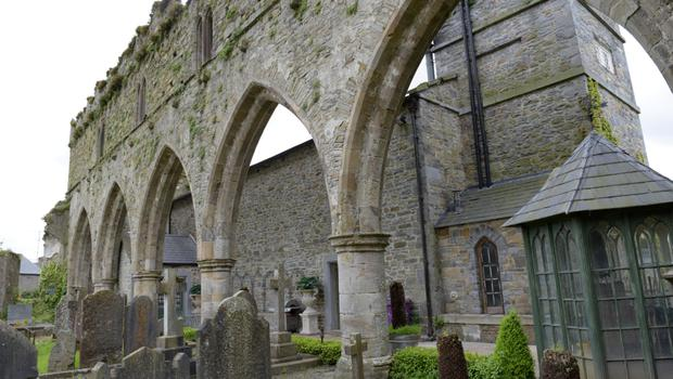 The striking Jerpoint Abbey