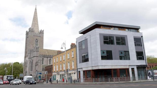 Old churches sit comfortably alongside new developments