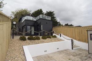 The rear extension