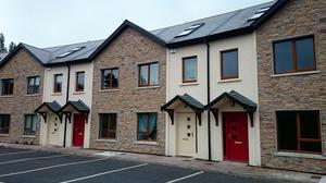 Two three-bedroom townhouses in Mullawn Crescent, Co Carlow