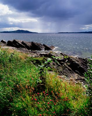 The view of Lough Swilly