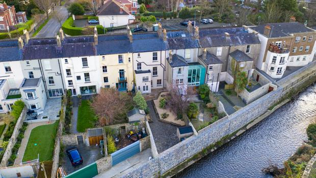 This home also overlooks the River Dodder's wildlife channel