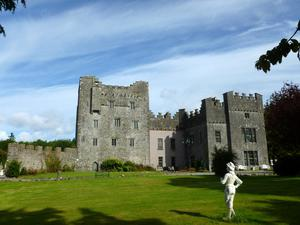 Portlick Castle which was built in the 12th Century.