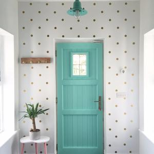 Now is the time to inject some cheery colour into your home - doors and small furniture pieces are ideal beginner projects, says Instagrammer Joanne Condon