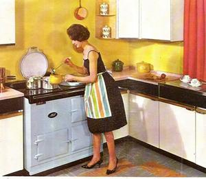 An old ad for Aga cookers