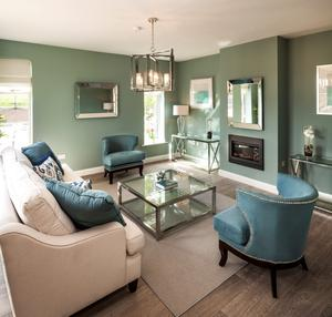 Showhouse kitchen at Fairbrook in Swords