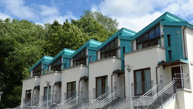 Modern apartments have sprung up in Chapelizod